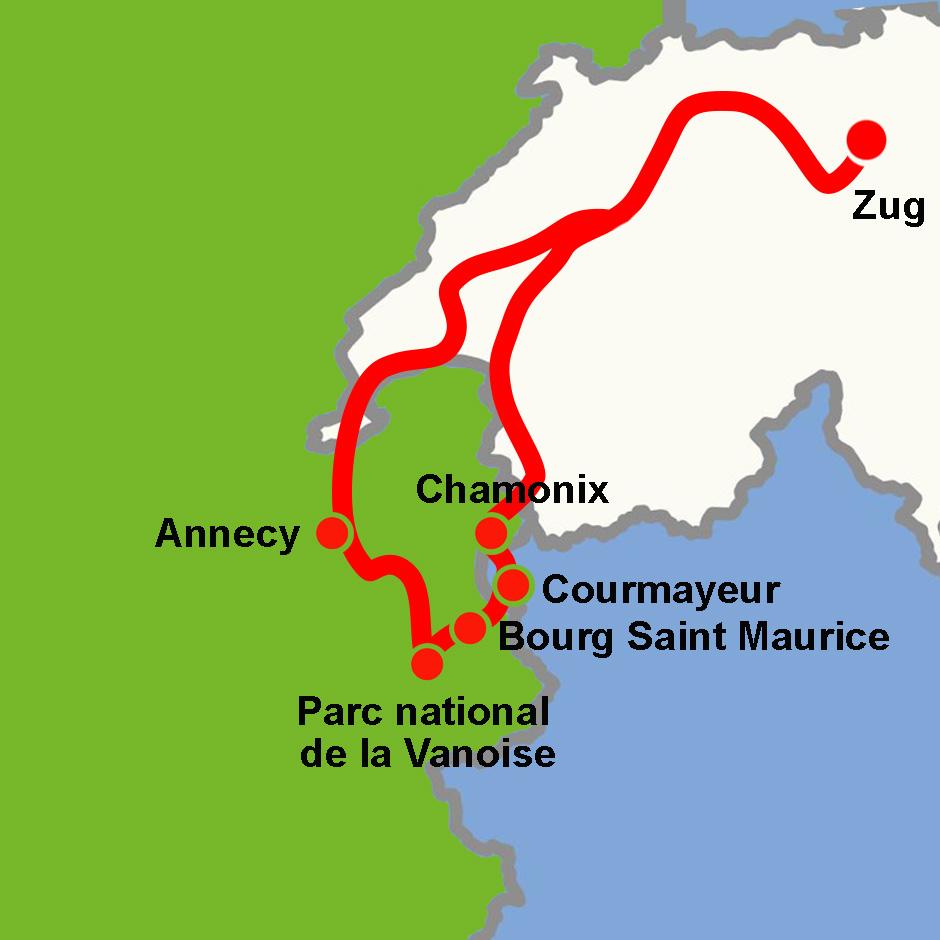 Region Mont Blanc